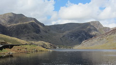 mountain, reservoir, valley, river, nature, mountain range, loch, lake, hill, highland, tarn, fell, landscape, lake district, mountainous landforms,