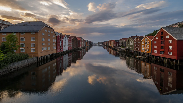 midnight in Trondheim