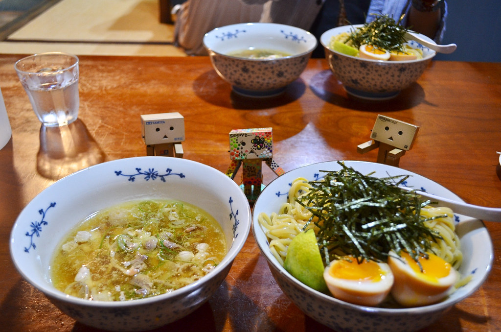かしわつけ麺。 (3)
