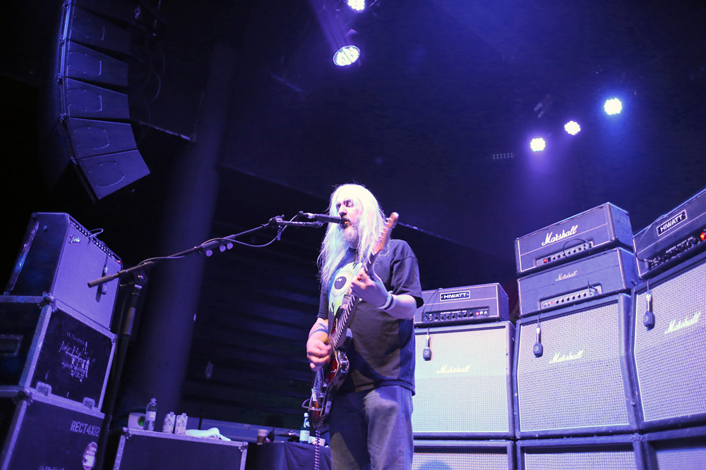 Dinosaur Jr @ Brooklyn Bowl, London 06/08/14