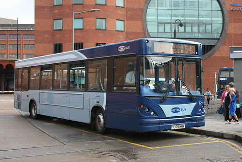 Metrobus 379 on Route 540, Redhill Bus Station