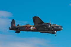aviation, military aircraft, airplane, propeller driven aircraft, vehicle, avro lancaster, flight, air force, air show,