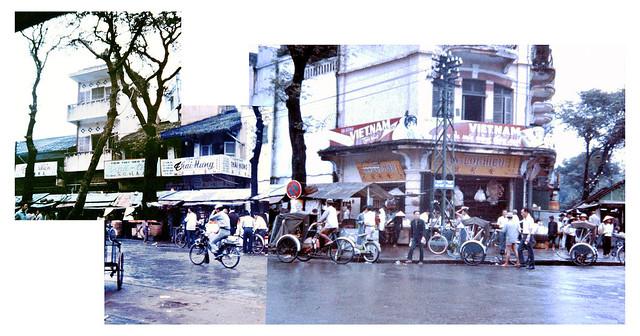 Saigon 1966 - Chợ Cũ, góc Hàm Nghi-Võ Di Nguy