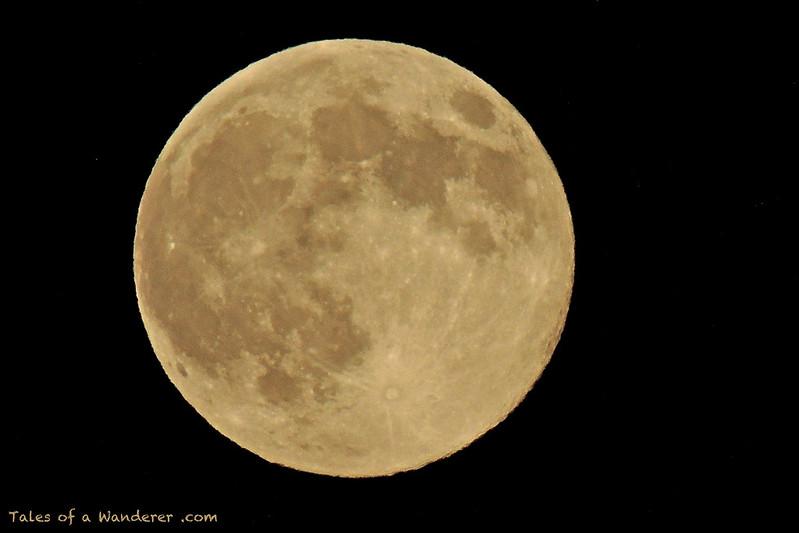 SEVILLA - Superluna del 10 de agosto de 2014