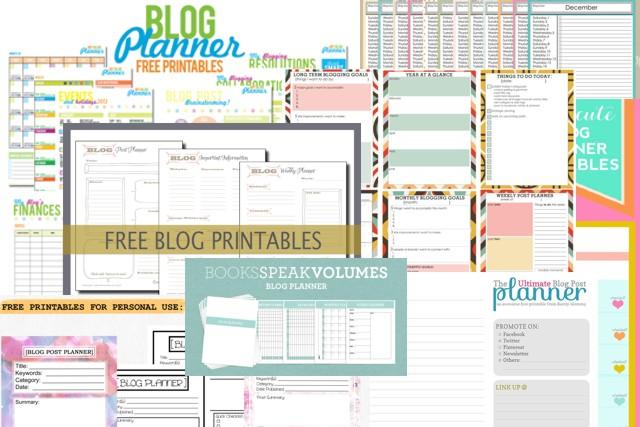 Blog Planner: disponíveis