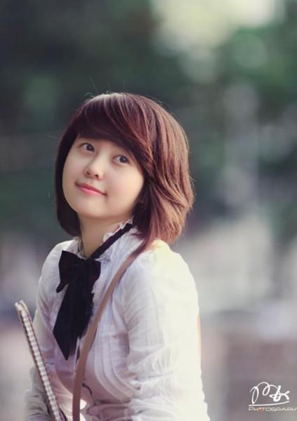 Các kiểu tóc ngắn đẹp! Tóc ngắn ép, uốn xoăn Hàn Quốc 22