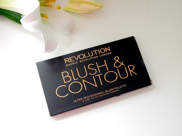 Makeup Revolution Sugar and Spice Blush and Contour Palette Review and Swatches