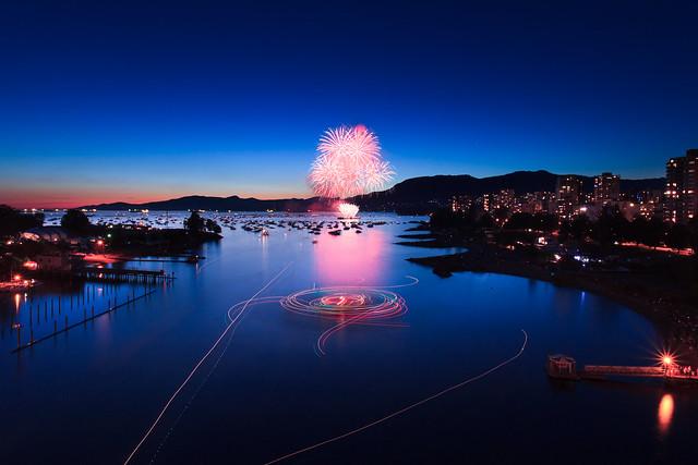 Celebration of Light Fireworks - Day 1 - Team USA