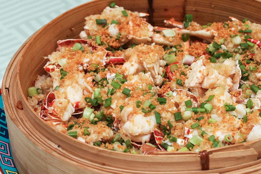 乔伊登海鲜:糯米龙虾