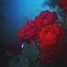underwater roses by Nadæc