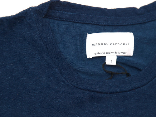 Manual Alphabet / Bamboo Cotton Tee