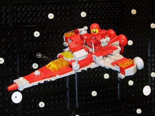 Comrade Benny's Mini Космический корабль! Космический корабль! КОСМИЧЕСКИЙ КОРАБЛЬ!
