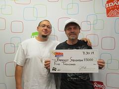 Bradley Stevenson - $5,000 Mega Millions