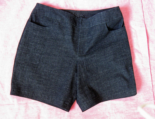 shorts front flat