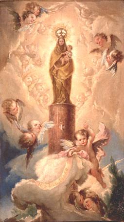 La Virgel del Pilar (Bayeu)