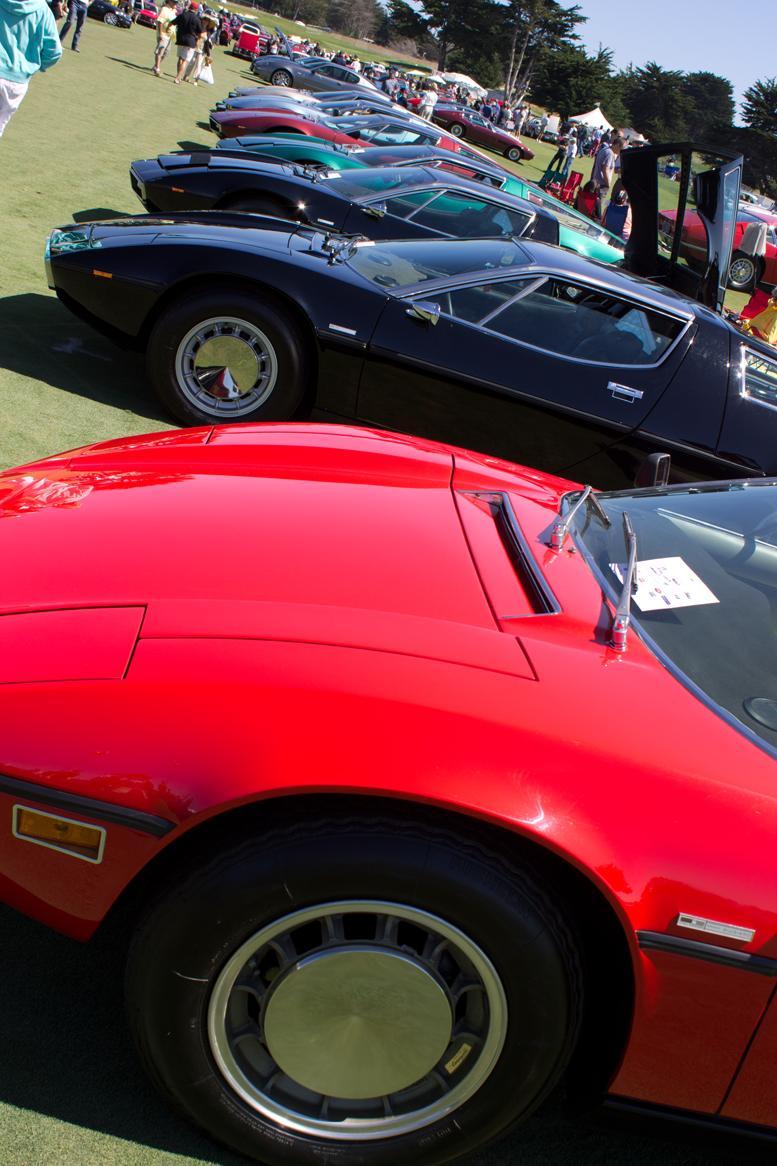 Italian Concours Maserati Boras