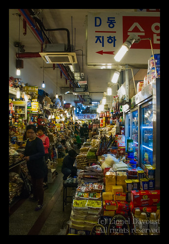 Namdaemun underground market