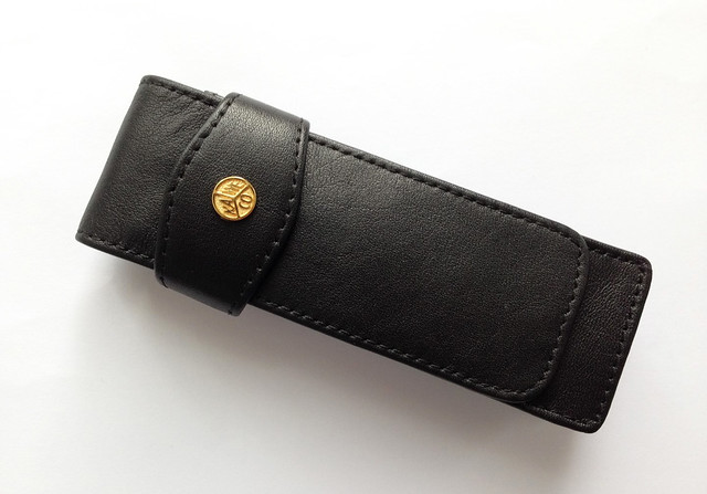 Review @Kaweco Leather 2 Pen Pouch With Flap @NoteMakerTweets