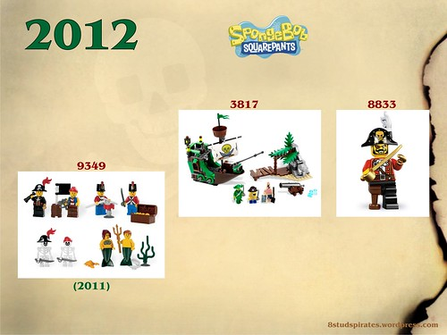 LEGO Pirates Timeline 2012