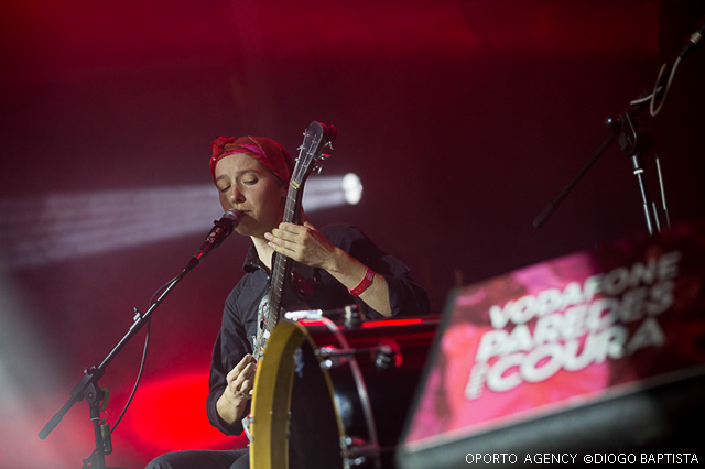 Buke and Gase - Vodafone Paredes de Coura '14