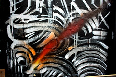 zebra(0.0), tiger(0.0), art(1.0), graffiti(1.0), modern art(1.0),