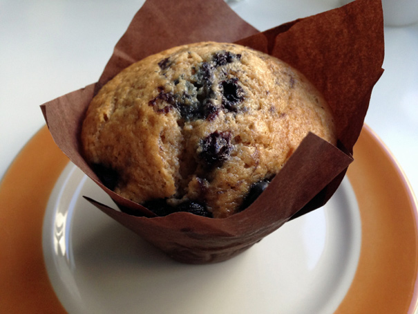 the right way to eat a muffin