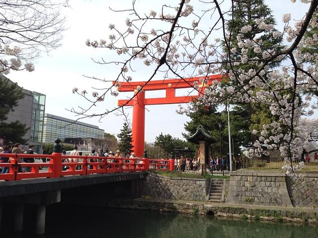 gate way of Heianjingu shrine