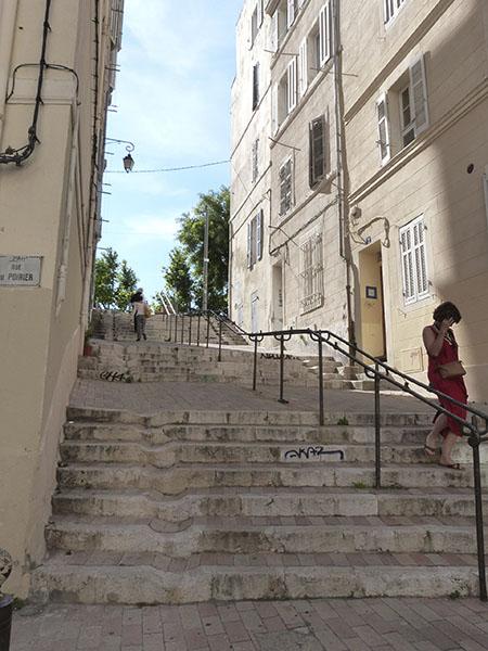 escaliers panier 2