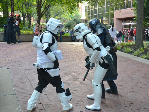 Omega-con 2014 Storm Troopers cosplay