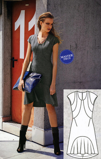 Burda-Sept-2014 Swoop Dress