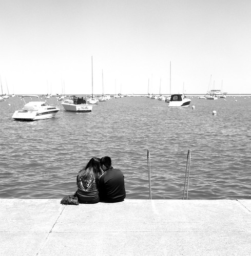 "Image titled ""By the water, Chicago."""