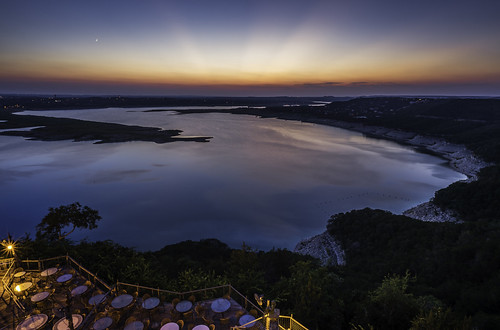 Lake Travis in the Twilight by Geoff Livingston