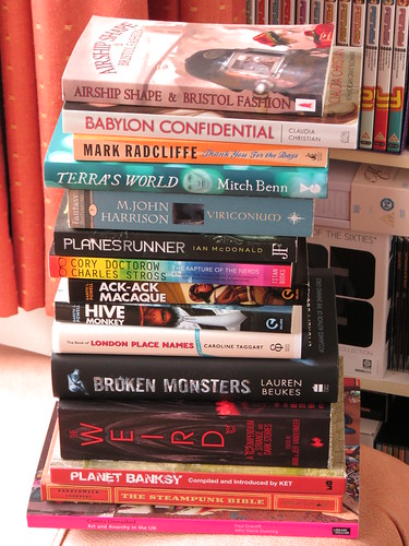 August's Book Stack