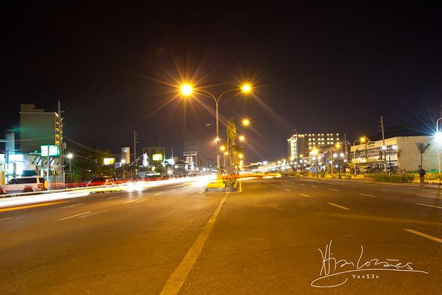 VanS3n-08032014- Long Exposure - Diversion Road, Iloilo City -0002
