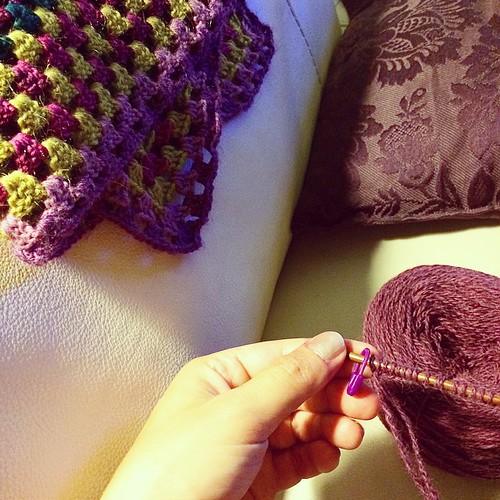 Starting a new project - Iniziando un nuovo progetto #emmafassio #knitting #handmade
