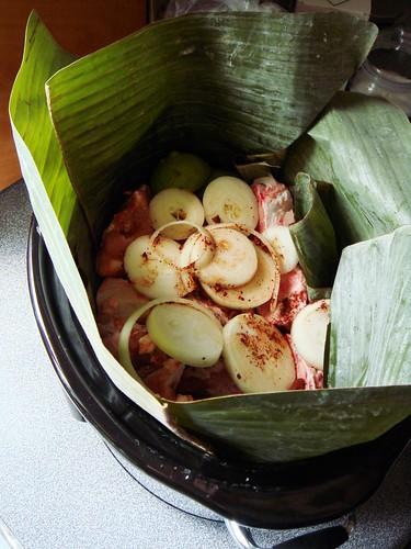 Slow Cooker Cochinita Pibil: Onion, Lime, Achiote Marinade