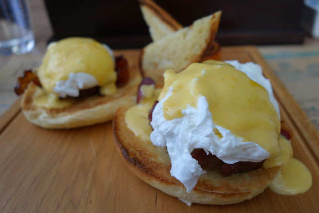 Eggs Benedict at Seminyak Kitchen, Courtyard by Marriott Bali Seminyak