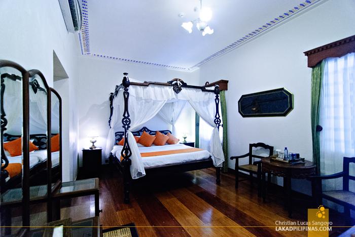 Maestra Suite of Hotel Felicidad in Vigan City