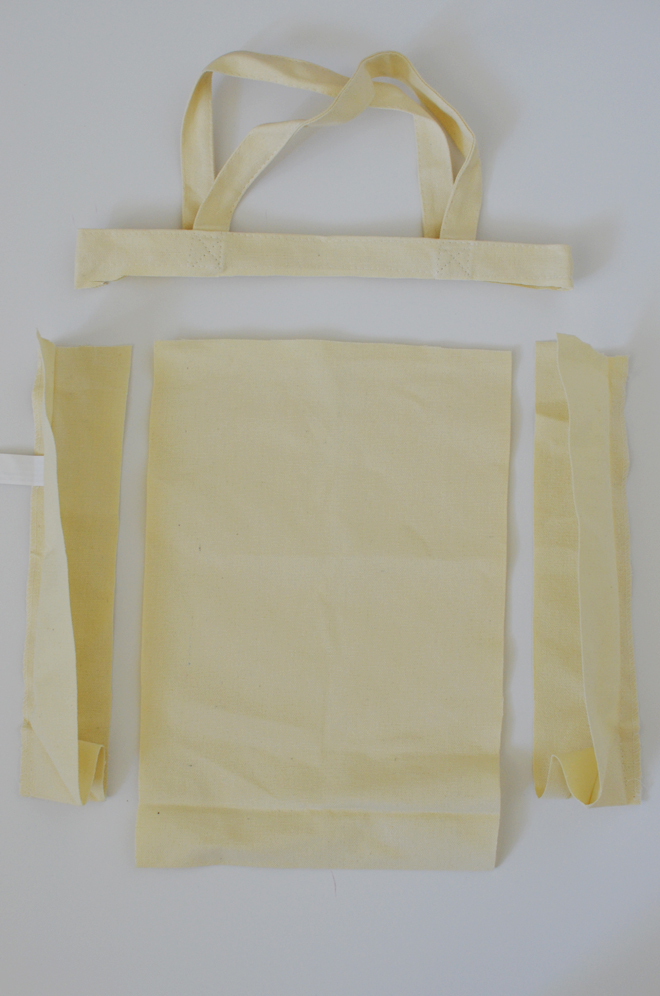 cotton canvas lunch bag