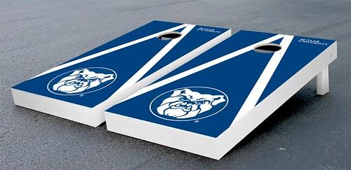 Butler Bulldogs Cornhole Game Set Triangle Wooden Version 2