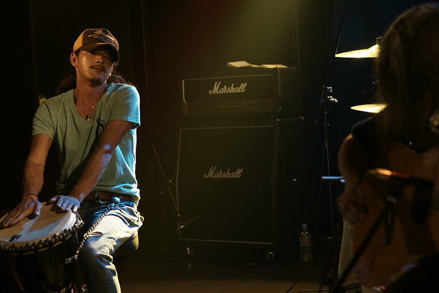 100 FEET live at 獅子王, Tokyo, 16 Aug 2014. 077