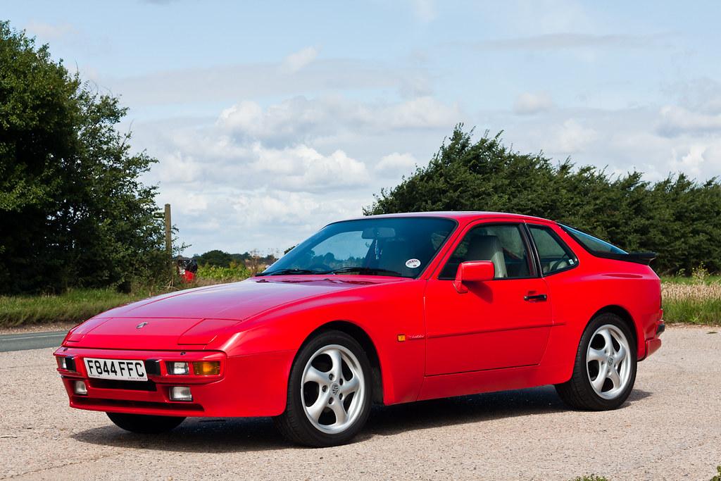 1988 Porsche 944 S Guards Red 163 Sold Suffolk Retro Rides