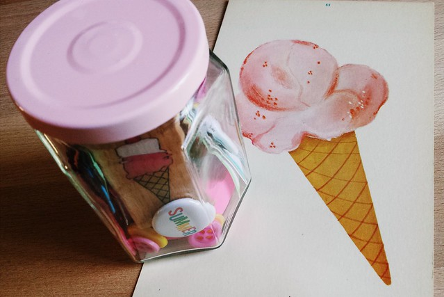 ice cream whimsy jar
