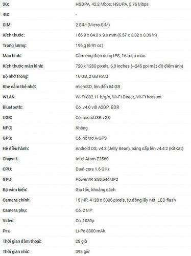 So sánh ASUS Zenfone 6 (A601CG) và Lenovo S850 - 30660