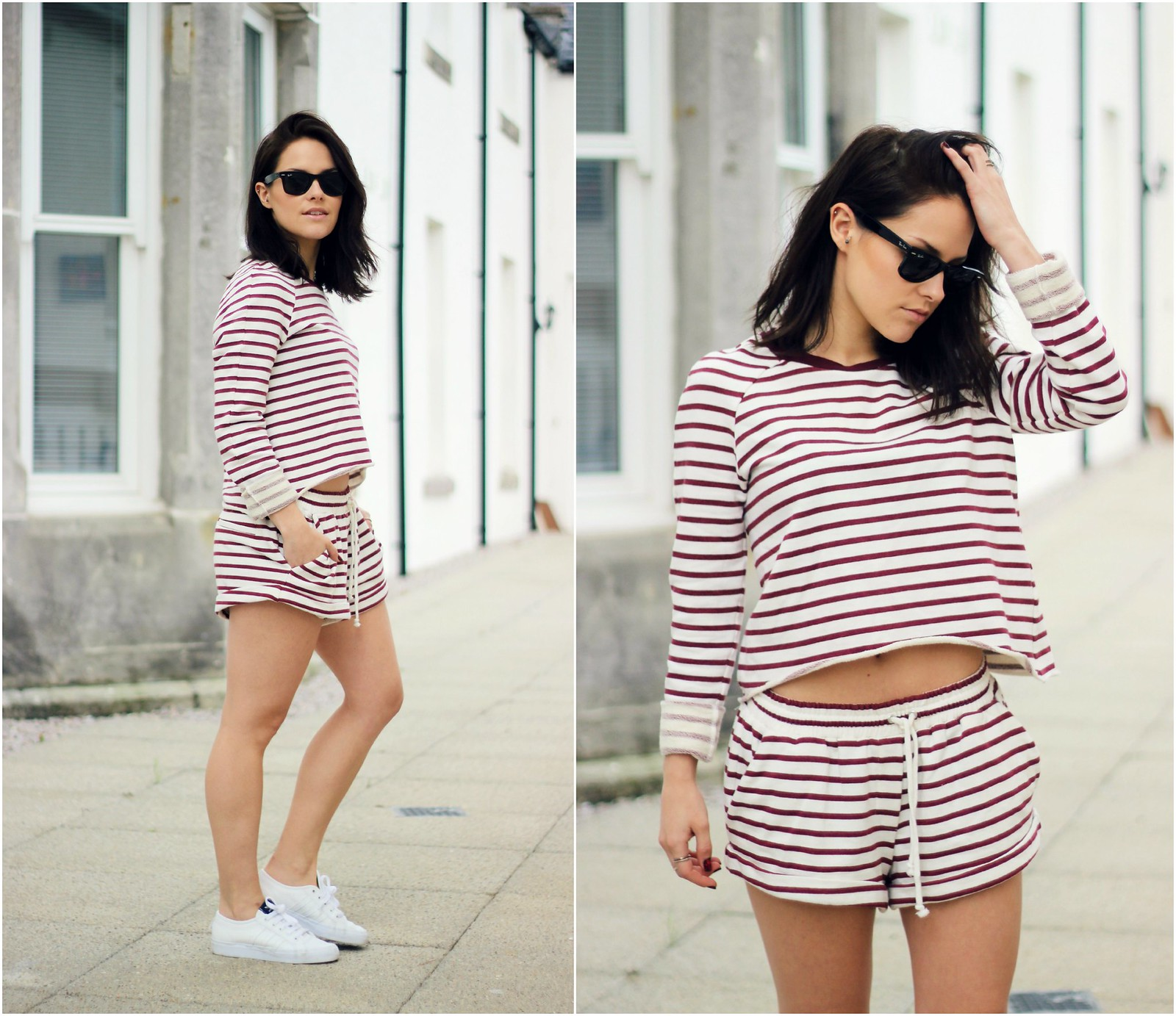 The Fifth Label stripe two piece 7