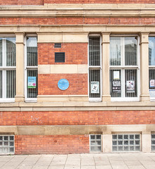 Photo of Town Hall, Eccles blue plaque