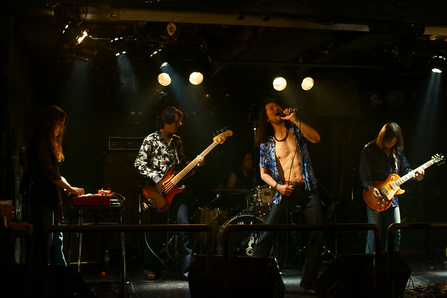 Tangerine live at Outbreak, Tokyo, 21 Aug 2014. 003