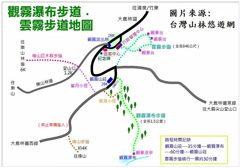 觀霧森林遊樂區基本資料-園區介紹-國家森林遊樂區   台灣山林悠遊網