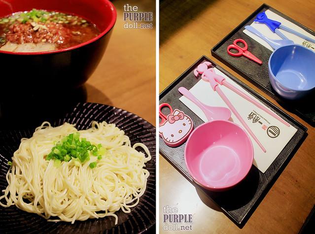 Kae-Dama - Extra Noodles (P70) and Kiddie Set