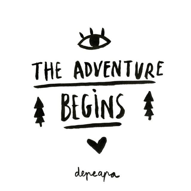 The adventure begins.